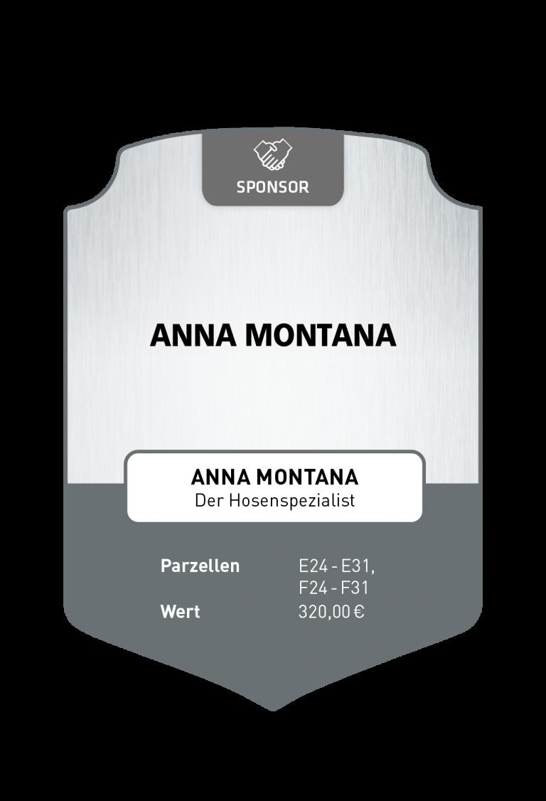 Sponsoren_Plakette_ Anna Montana