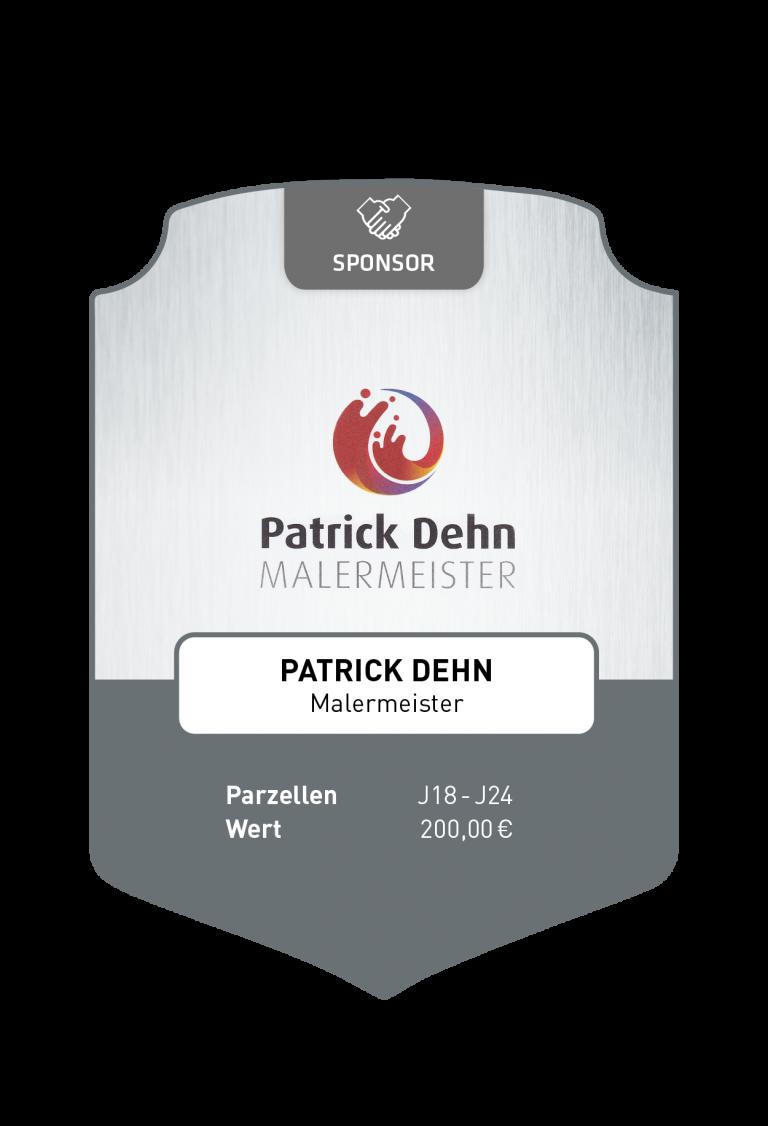 Sponsoren_Plakette_Dehn